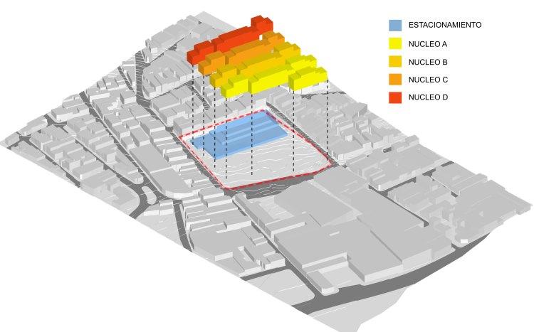 Isometria esquema de la propuesta