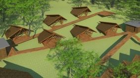 Área de modulos de hospedaje